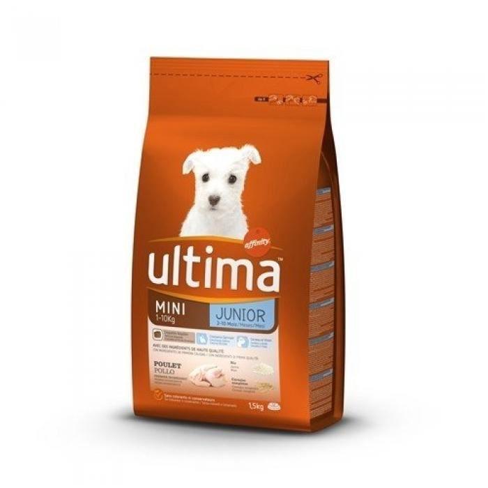 ULTIMA Croquettes - Pour chiot - 1,5 KG