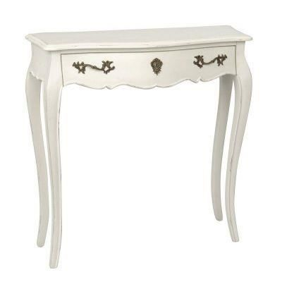 petite console baroque blanche achat vente console. Black Bedroom Furniture Sets. Home Design Ideas