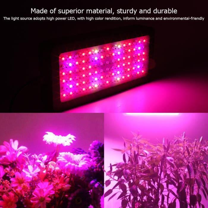 1x Lumière Lampe Croissance Plante Pour Fleur Floraison Horticole LED Intérieur