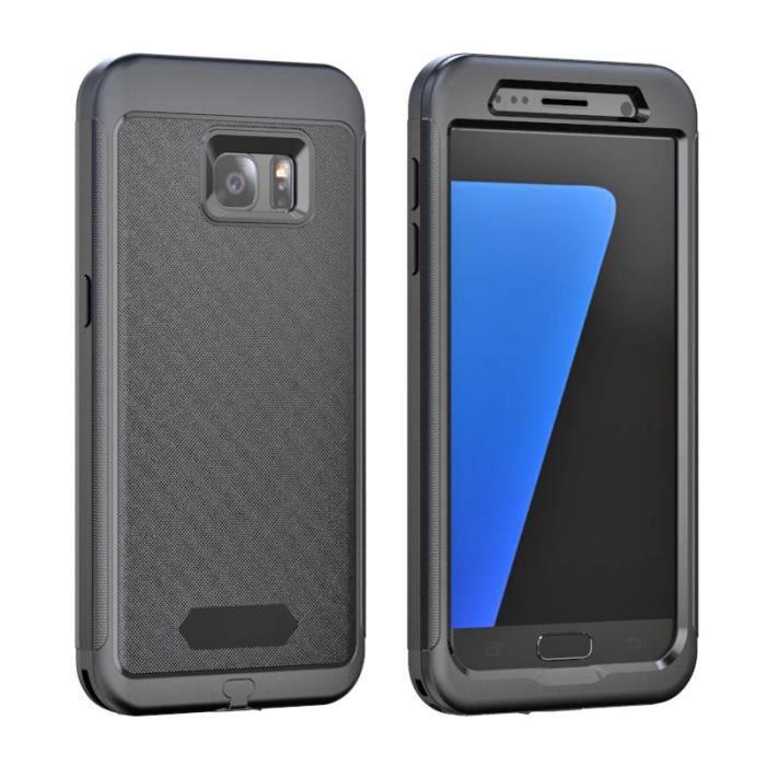 Molyqiu® Coque Etanche Samsung Galaxy S7 Edge Plus Imperméable ...