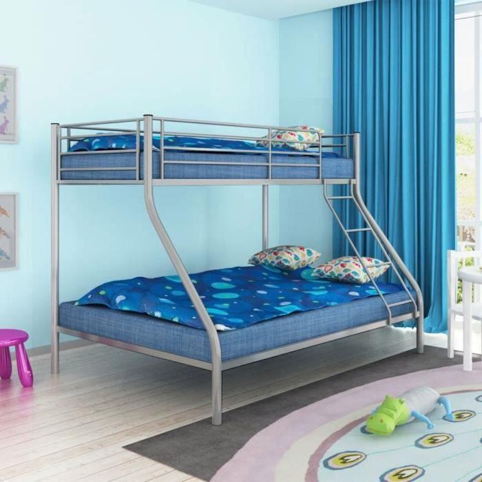 STRUCTURE DE LIT Cadre de lit superposé pour enfant 200x140-200x90
