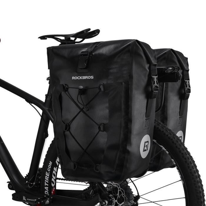 ROCKBROS Vélo Selle Sac Vélo Siège Sac Cyclisme Wedge Pack 1.5 L sous siège pochette