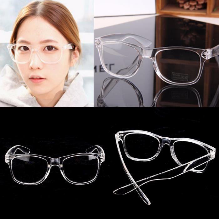 Monture de lunette Transparent de Vue Myopie