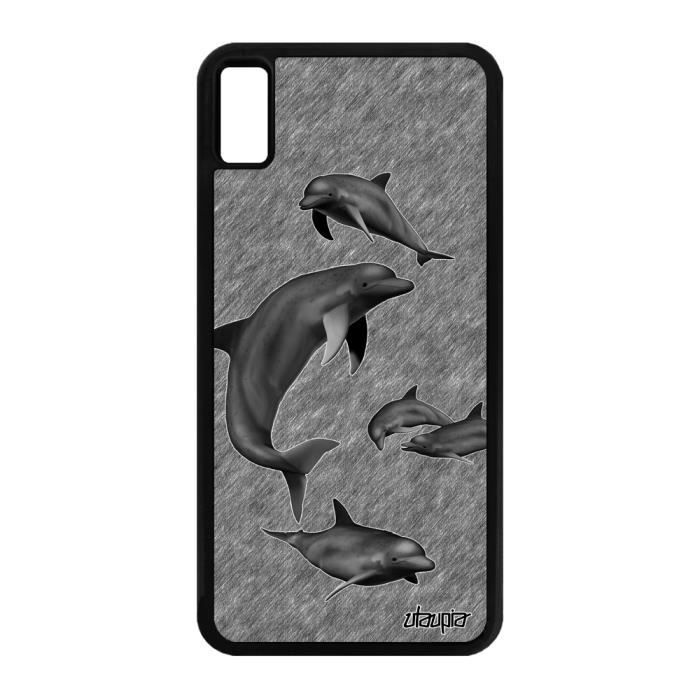 coque iphone 12 dauphin