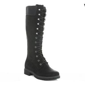 bottines noire femme timberland