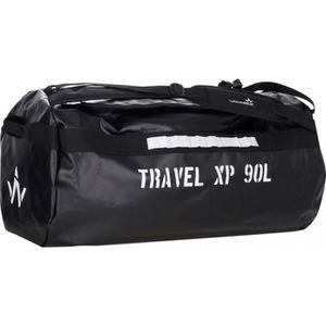 SAC DE SPORT WANABEE Sac de voyage Travel XP 90 L - Noir et bla