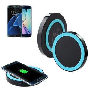 CHARGEUR TÉLÉPHONE Qi chargeur sans fil rechargeable pour Samsung Gal