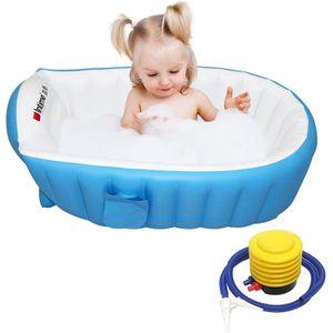 BAIGNOIRE  Baignoire Enfants Gonflable pour Bébés,  Baignoire