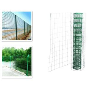 Barriere de jardin en pvc achat vente barriere de for Barriere de jardin pvc