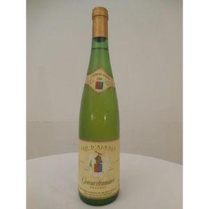 VIN BLANC gewurztraminer coopérative viticole de westhalen r