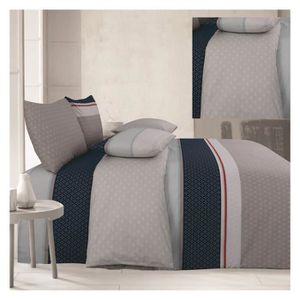 HOUSSE DE COUETTE SEULE Pack complet Blue night housse de couette pour lit