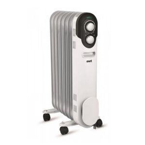 RADIATEUR D'APPOINT Ewt - radiateur à bain d'huile 1500w blanc - cocoo
