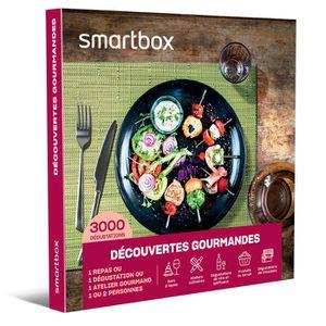 COFFRET SÉJOUR SMARTBOX - Coffret Cadeau - Découvertes gourmandes