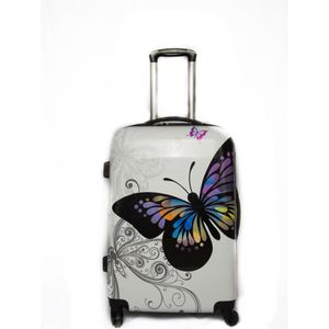 VALISE - BAGAGE TROLLEY ADC Valise trolley BUTTERFLY - Rigide - 65