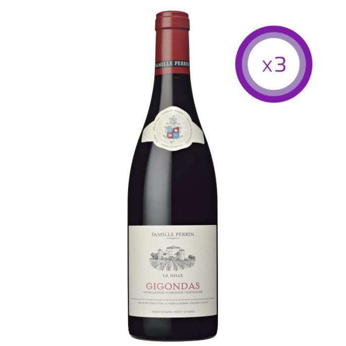 Famille Perrin - Gigondas - La Gille - Rouge - 2018 - 75 cl