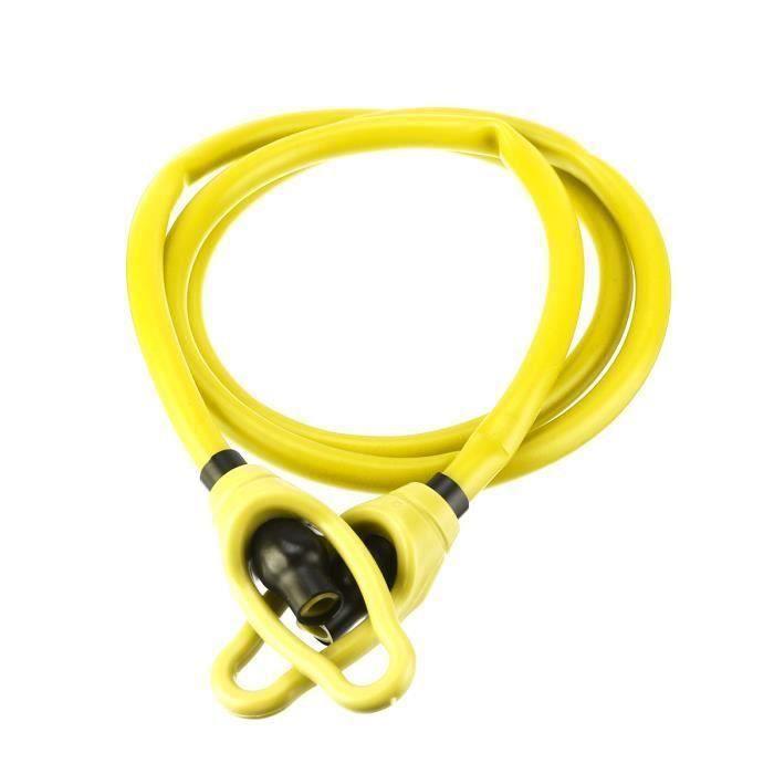 AVANC Bande de Résistance Elastique Sangle Fitness Bras jaune 10lbs