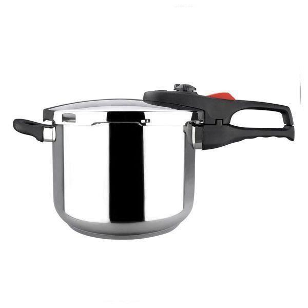 Cocotte Minute Inox de qualité supérieure, Idéal pour tous types de cuisines, 8 Litres