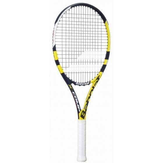 raquette de tennis X Comp Strungunisexe noir/jaune mt L1