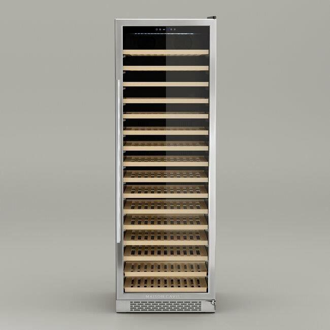 CAVIST.166 - CAVE À VIN ENCASTRABLE 166 BOUTEILLES, Technologie silencieuse, Système anti-vibrations, Thermodynamique