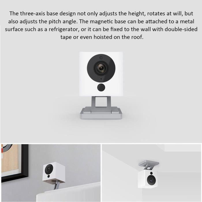 Caméra IP WiFi intelligente 1080P blanc
