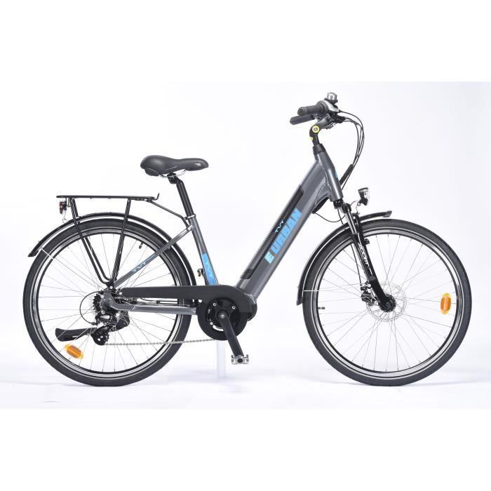 Vélo à assistance électrique TVT E-URBAN - 26- - aluminium - autonomie 75km