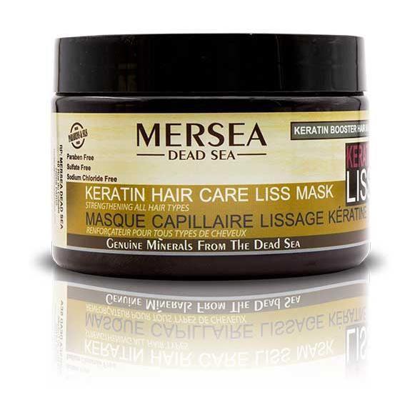 MERSEA - Masque Capillaire Lissage Kératine - Renforçateur Pour Tous Types De Cheveux 350ml