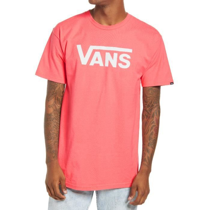 T-Shirt homme rose Vans MN Vans Classic