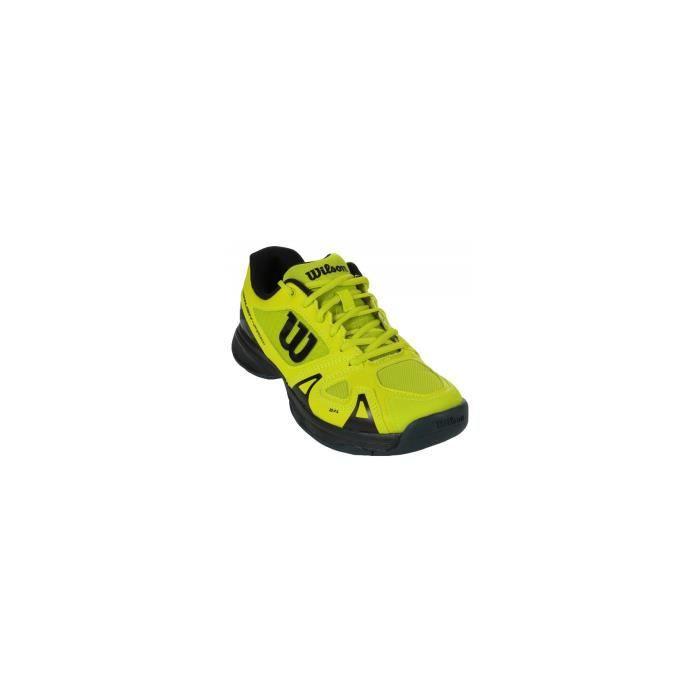 Chaussures WILSON Junior Rush Pro JR 2.5 Jaune / Noire AH 2018