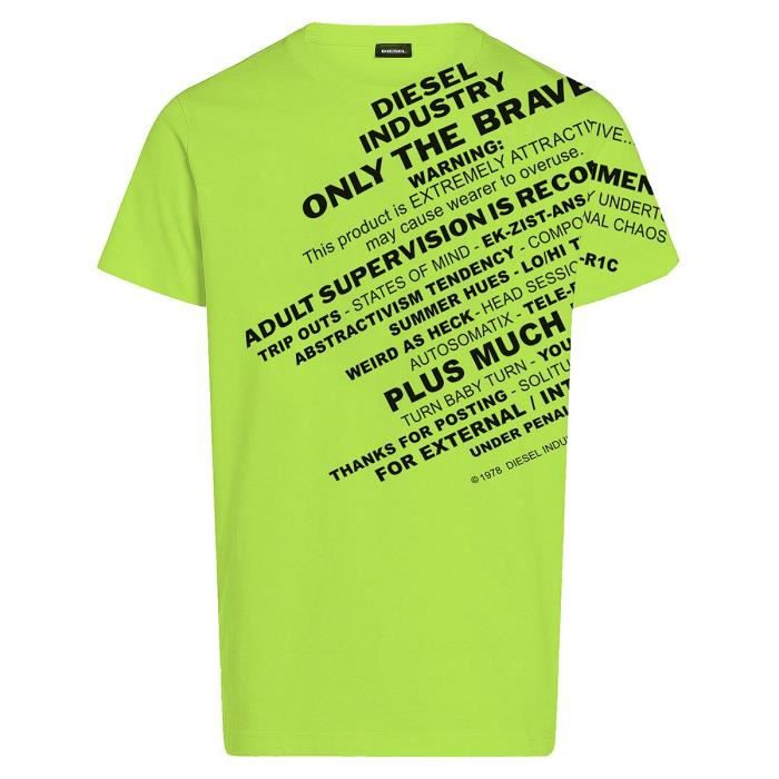 Diesel Garçon t-shirts-manches-courtes