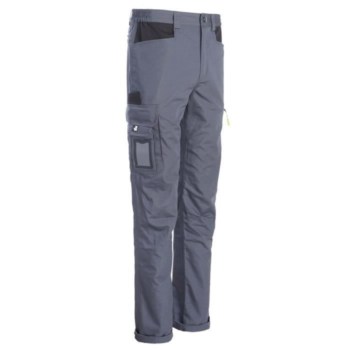 PANTALON DE TRAVAIL EDWARD GRIS - NORTH WAYS