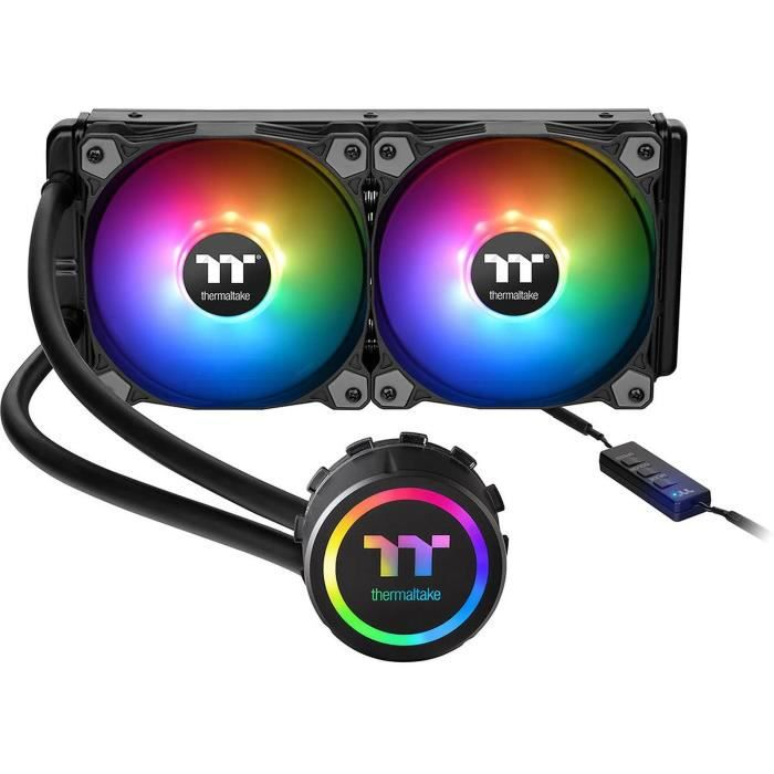 Thermaltake Water 3.0 240 Argb Sync Kit de Watercooling Aio Cpu