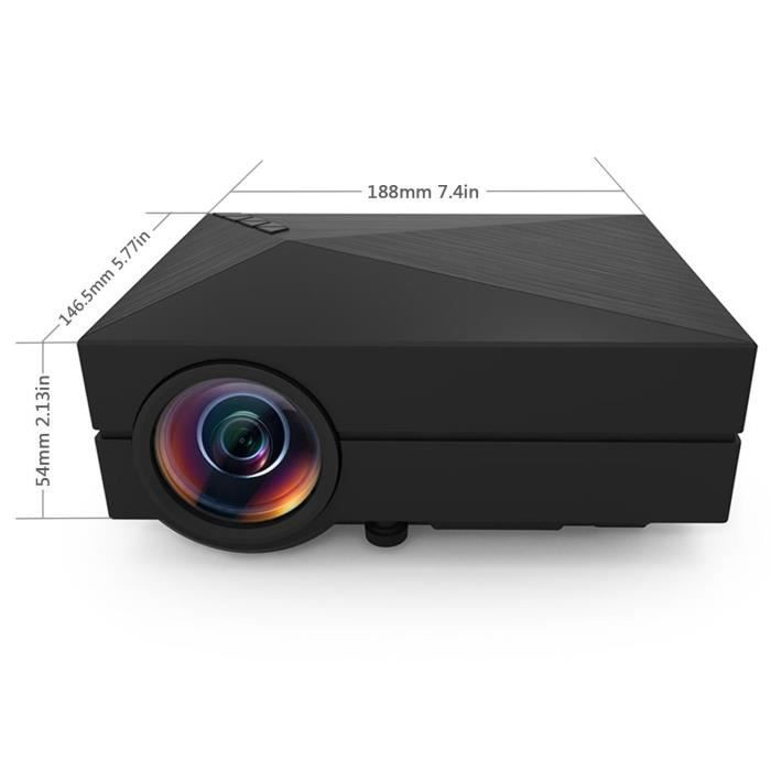 multim dia portable mini projecteur led lcd mini. Black Bedroom Furniture Sets. Home Design Ideas