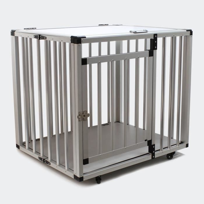 cage droite xl de transport voiture pour chien achat vente caisse de transport cage droite. Black Bedroom Furniture Sets. Home Design Ideas
