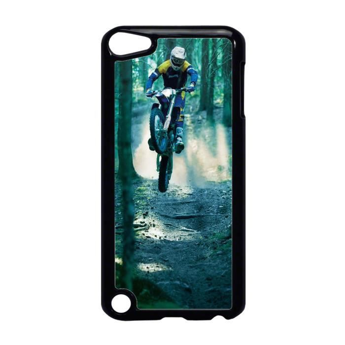 coque ipod touch 5 sport moto cross dans les bois ref. Black Bedroom Furniture Sets. Home Design Ideas