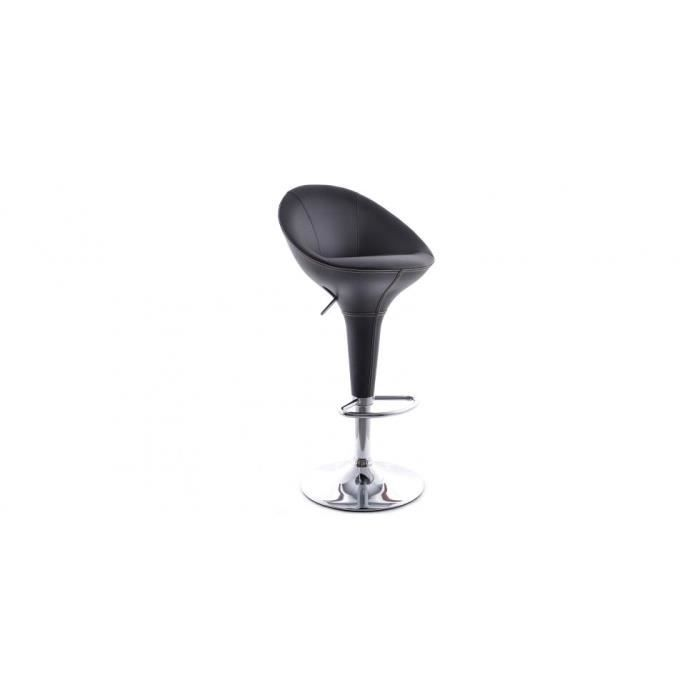 tabouret de bar low back pivotant r glable en hauteur achat vente tabouret de bar cdiscount. Black Bedroom Furniture Sets. Home Design Ideas