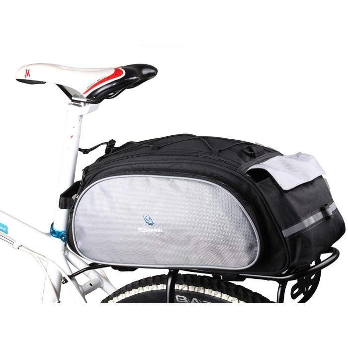 Sacoches pour Arrière de Vélos Porte-Bagage Arrière de Transport Vélos