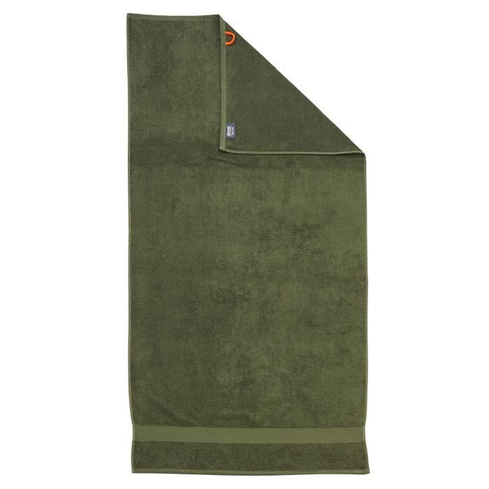 100/% Coton 50x100x1 cm Iceberg Vert DONE Deluxe Serviette