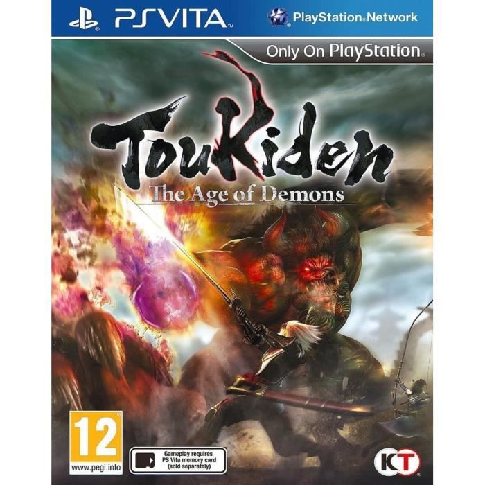 toukiden the age of demons jeu ps vita achat vente jeu ps vita toukiden the age of demons. Black Bedroom Furniture Sets. Home Design Ideas