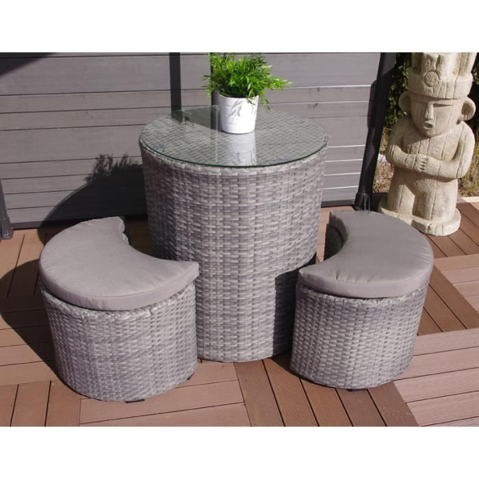 set balcon luna achat vente salon de jardin set balcon luna soldes d t cdiscount. Black Bedroom Furniture Sets. Home Design Ideas