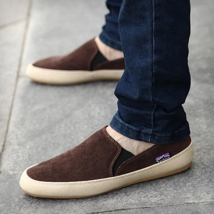 Printemps Angleterre Mode Hommes Chaussures Zap...
