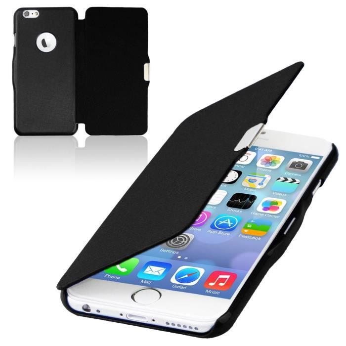 coque rabattable iphone 6