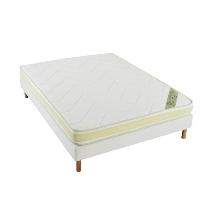 matelas duo mousse 90x190 cm achat vente matelas cdiscount. Black Bedroom Furniture Sets. Home Design Ideas