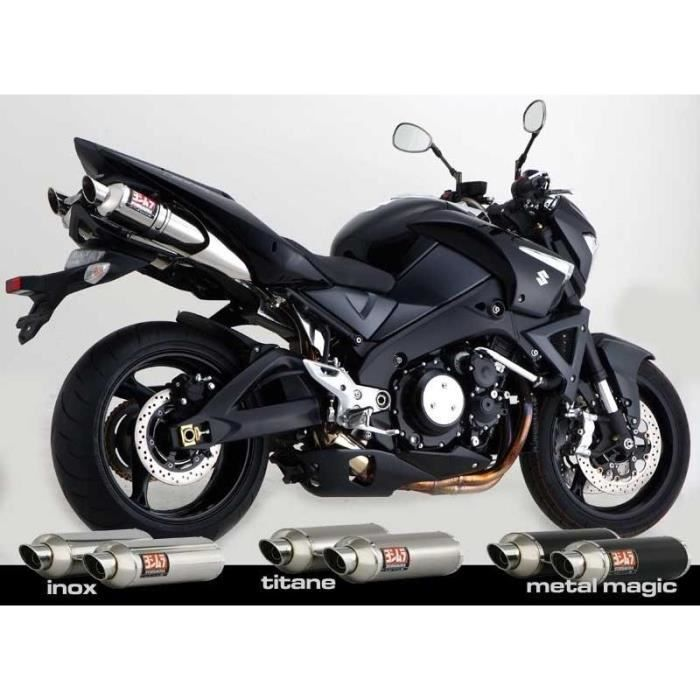 silencieux homologu yoshimura gsx1340 b king 0 achat. Black Bedroom Furniture Sets. Home Design Ideas
