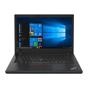 Achat discount PC Portable  Lenovo ThinkPad T480s 20L7 Core i7 8550U - 1.8 GHz Win 10 Pro 64 bits 16 Go RAM 1 To SSD TCG Opal Encryption 2, NVMe 14
