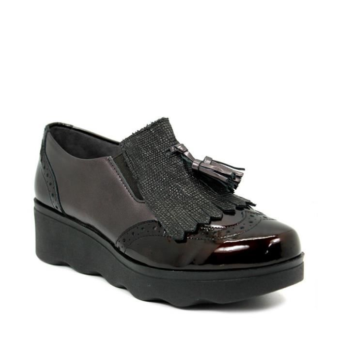 PITILLOS Chaussures Mocassin - Glands - Cuir - Brun - Taille - Quarante Femme Ref. 2351_23100