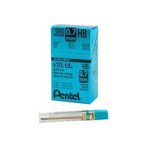 CRAYON GRAPHITE Pentel Super Hi-Polymer Mine de crayon HB 0.7 mm p