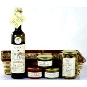 COFFRET CADEAU ÉPICERIE Coffret découverte Olives d'Aix AOP - 5 produits a