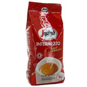 CAFÉ cafe en grains intermezzo 1 kg segafredo neuf