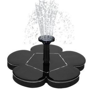 FONTAINE DE JARDIN Fontaine de bain d'oiseau de puissance solaire eau