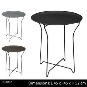 table d 39 appoint pliante achat vente table d 39 appoint pliante pas cher cdiscount. Black Bedroom Furniture Sets. Home Design Ideas